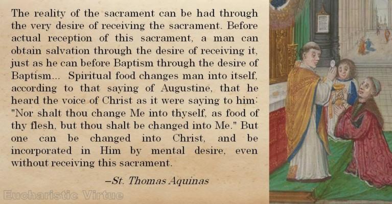Spiritual Communion Quote